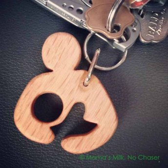 Keychain by Wood & Thyme
