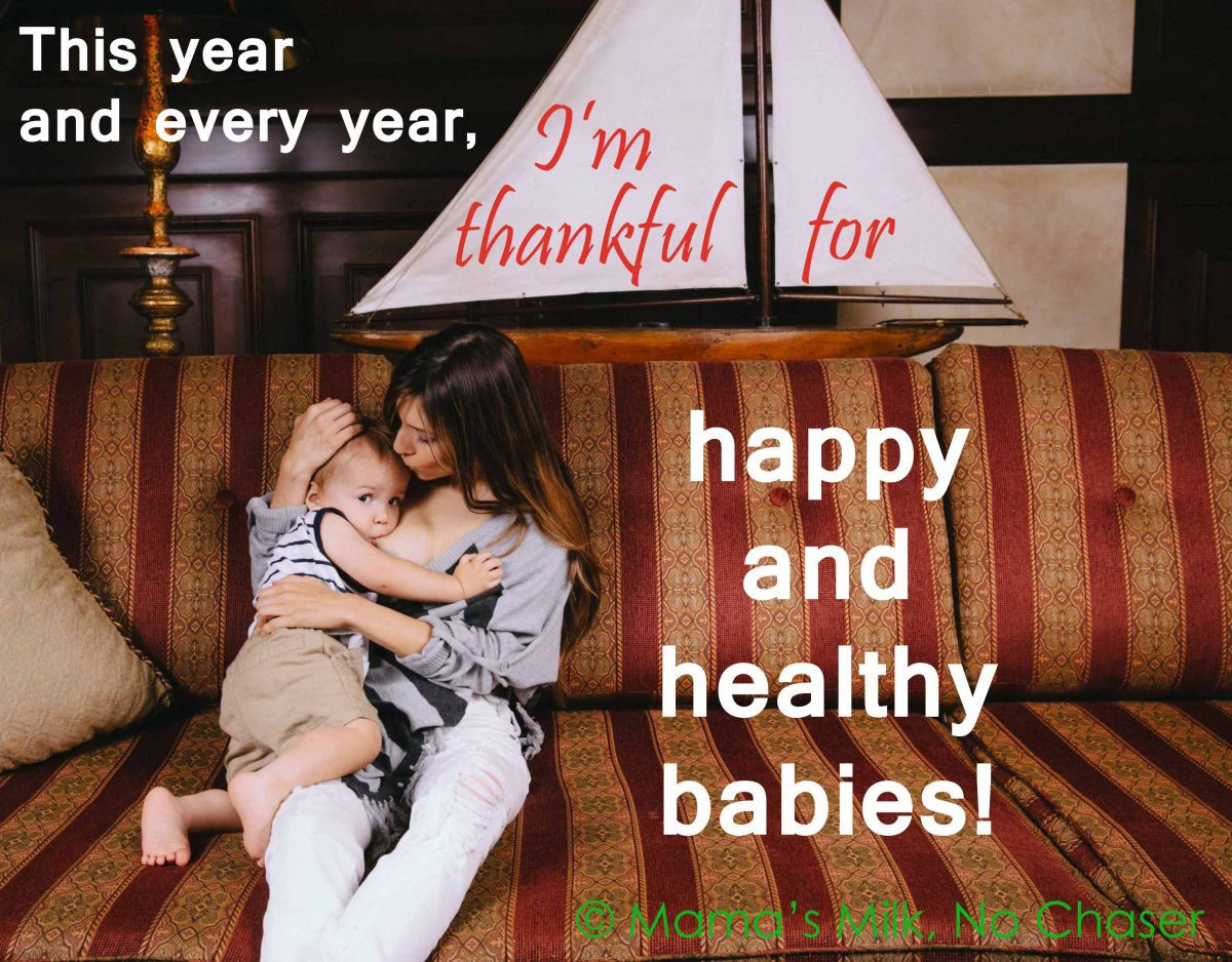 Seasonal Breastfeeding Saboteurs on Thanksgiving Day