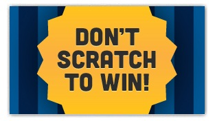 Don't Scratch To Win